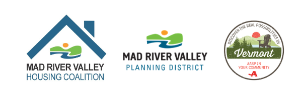 Co-hosted by the Mad River Valley Housing Coalition, Mad River Valley Planning District, and AARP-Vermont